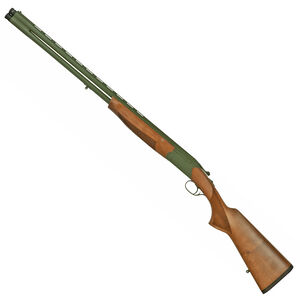 "CZ Upland Ultralight All Terrain 20 Gauge Over/Under Shotgun 28"" Barrels 2 Rounds 3"" Chamber Turkish Walnut Pistol Grip Stock/Forend OD Green Cerakote Finish"