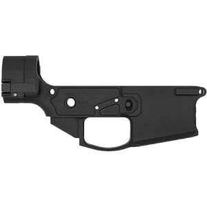 Shield Arms AR-15 SA-15 Stripped Folding Lower Receiver Multi Caliber Marked 7075-T6 Billet Aluminum Anodized Black