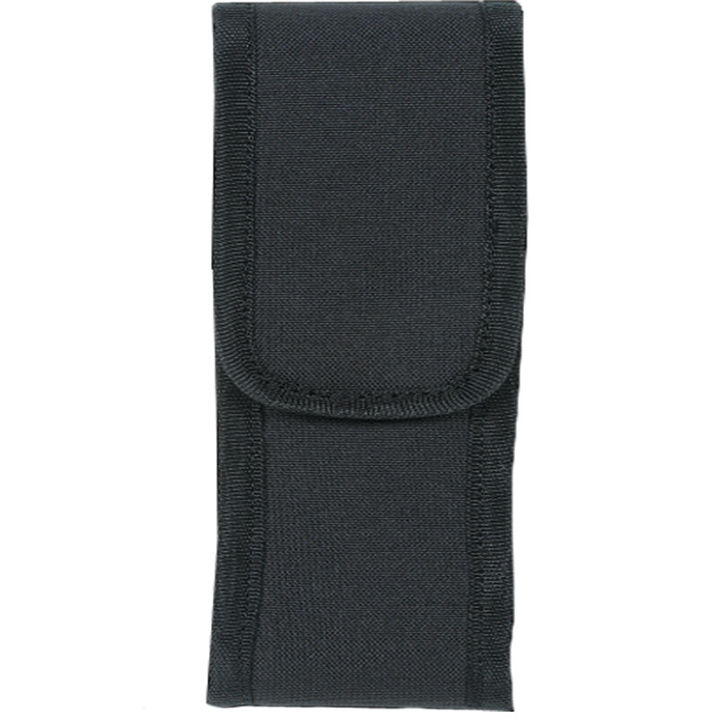 Voodoo Tactical MOLLE Flashlight Pouch with Adjustable Cover/Elastic Sides Size Small Nylon Black 013601000