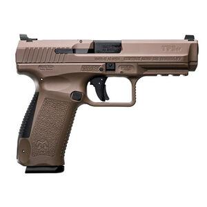 """Canik TP9SF 9mm Luger 4.46"""" Barrel Long Slide 18 Rounds Polymer Frame FDE"""
