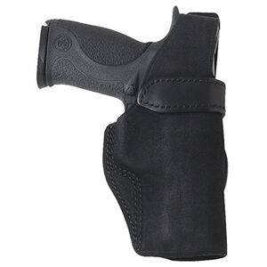 GALCO Wraith Holster Leather Belt Right Hand Thumb Break Black Ruger LCR 3""