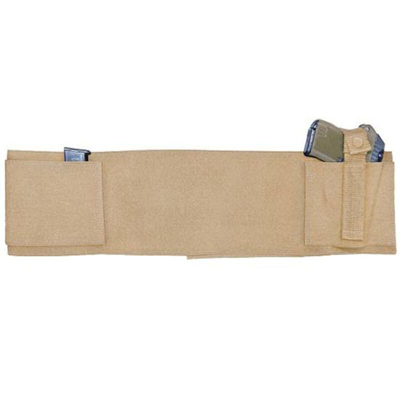 "Personal Security Products Concealed Carry Belly Band Ambidextrous 28"" to 34"" Waist Tan"