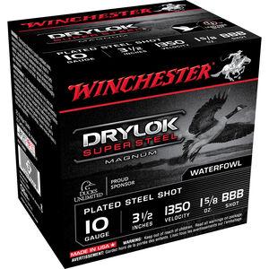 "WInchester Drylok 10ga 3-1/2"" BBB Steel 1-5/8oz 25 Rnd Box"