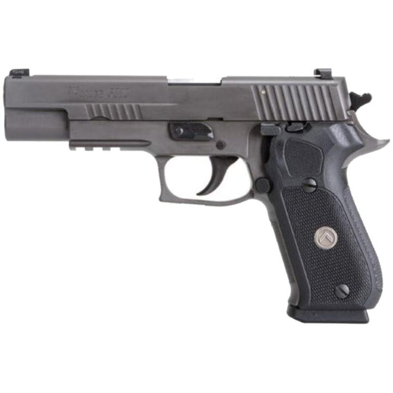 "SIG Sauer P220 Legion Full Size Semi Auto Pistol 10mm Auto 5"" Barrel 8 Round Magazine SIG Rail X-Ray3 Day/Night Sights G10 Grips Legion Gray Slide/Frame Finish"