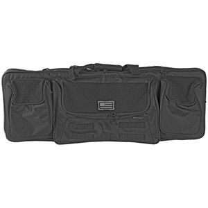 """Evolution Outdoor 1680 Tactical Series 36"""" Tactical Double Rifle Case Black"""