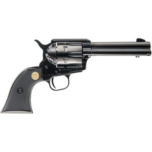 "Chiappa Firearms SAA 1873 Regulator .38 Special Single Action Revolver 4.75"" Barrel 6 Rounds Polymer Grip Black Finish"