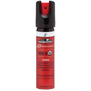 Defense Technology Law Enforcement Grade Personal Pepper Spray .68 Ounce MK-8 .2% 56185