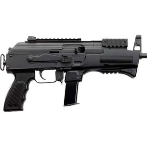 "Charles Daly AK-9 9mm Luger Semi Auto Pistol 6.3"" Barrel 10 Rounds Polymer Handguard Steel Black"
