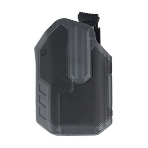 BLACKHAWK! Omnivore Multi Fit Holster for Most Handguns with TLR 1 or 2 Light Level 2 Retention Left Hand Polymer Black and Grey