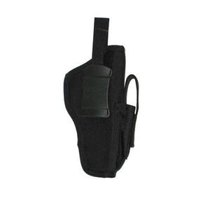 BLACKHAWK! Belt Holster Large Frame Autos Ambidextrous Nylon Black 40AM05BK