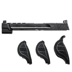 "Smith & Wesson Performance Center Ported Slide Kit S&W M&P 9L Full Size 5"" Barrel Stainless Steel Armornite Finish Matte Black"