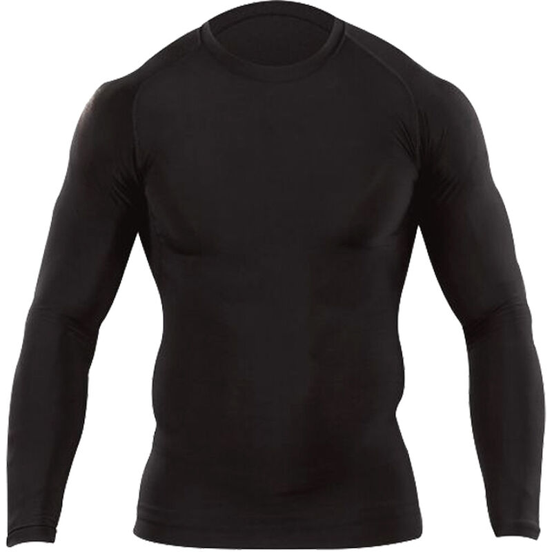 5.11 Tactical Men's Tight Crew Shirt Large Long Sleeve Base Layer Synthetic Black