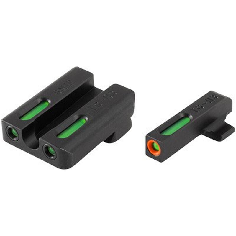 TRUGLO TFX Pro Steyr M-A1/C-A1/S-A1/L-A1 Models Front and Rear Set Green TFO Night Sights Orange Ring Steel Black TG13SM1PC