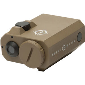 Sightmark LoPro Mini Green Laser Sight, Aluminum, Dark Earth, CR123A