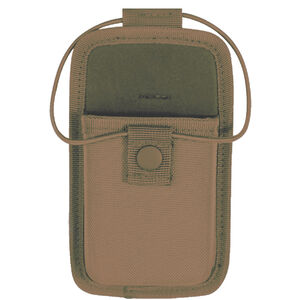 5ive Star Gear Universal Duty Radio Pouch Ballistic Weave Coyote