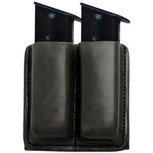 Tagua Gunleather Double Pistol Magazine Carrier GLOCK 42/43 Magazines Ambidextrous Leather Black MC6-014