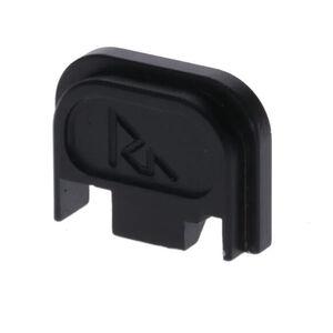 Rival Arms Slide Cover Plate for GLOCK Double Stack G17 / G19 Gen 5 Slide Models Anodized Aluminum Black