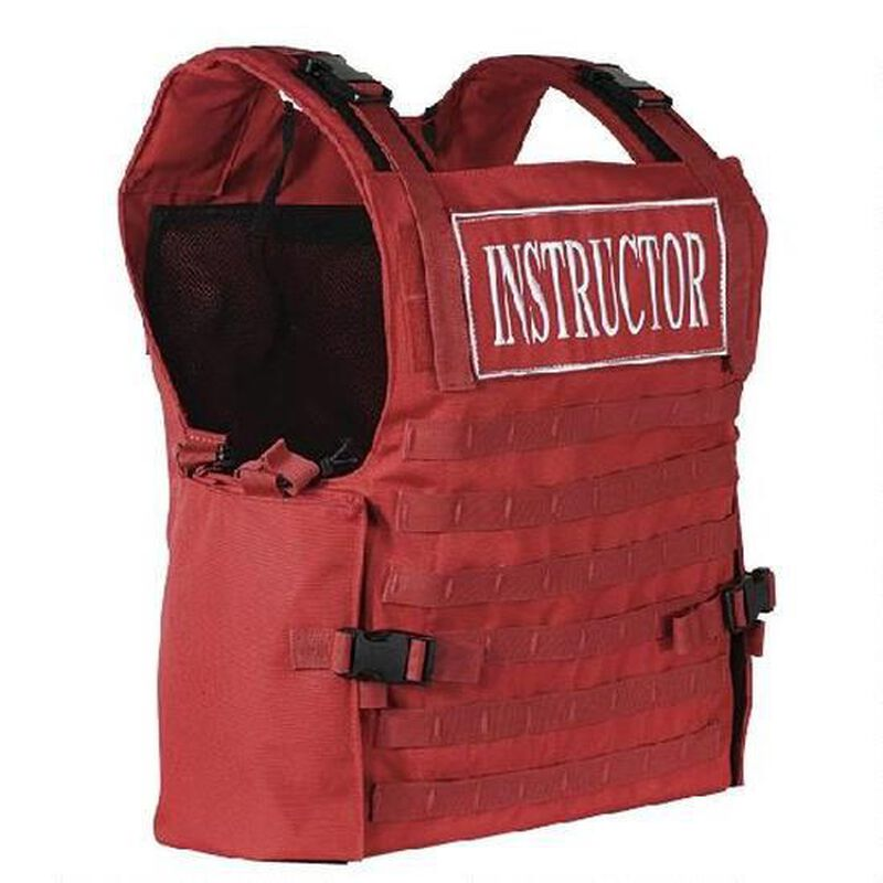 Voodoo Tactical Instructor Armor Carrier Vest Safety Red 20-0054016000