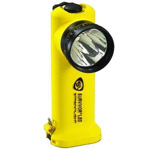 Streamlight Survivor Series C4 LED Flashlight 140 Lumen 4 Function 4x AA Battery Click Switch Polymer Body Yellow 90541