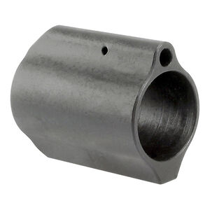 "Midwest Industries AR-15 Low Profile Gas Block .936"" Diameter 4140 Steel Matte Black Finish"