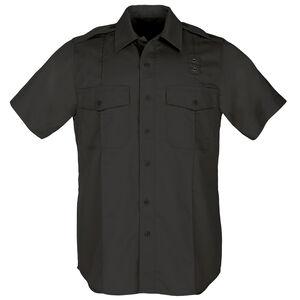 5.11 Tactical Women's PDU Short Sleeve Shirt Polyester Cotton Medium Regular Midnight Navy 61158
