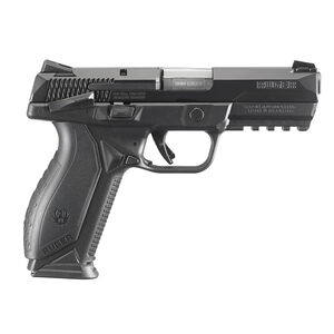 """Ruger American 9mm Semi Auto Pistol 4.5"""" Barrel Manual Safety 17 Rounds"""