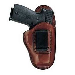 Bianchi #100 Professional Inside-the-Pants Holster Kahr CW9, PM40 Size 9A Right Hand Leather Tan 19228