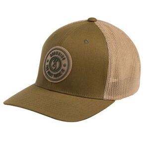 Browning Cap Dusted Buckmark Logo Color Brown
