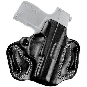 DeSantis Gunhide Mini Slide SIG P365 OWB Belt Holster Right Hand Leather Black