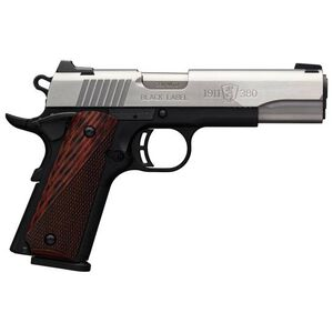 """Browning 1911-380 Black Label Medallion Semi Auto Pistol 380 ACP 4.25"""" Barrel 8 Rounds Composite Frame Stainless Steel"""