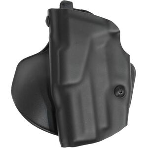 """Safariland 6378 ALS Paddle Holster Left Hand S&W M&P 9mm/.40S&W with 4.25"""" Barrel STX Plain Finish Black 6378-219-412"""