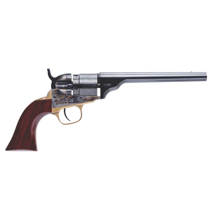 "Cimarron '62 Pocket Navy Conversion .380 ACP Revolver 6"" Barrel 5 Round Walnut Grip"