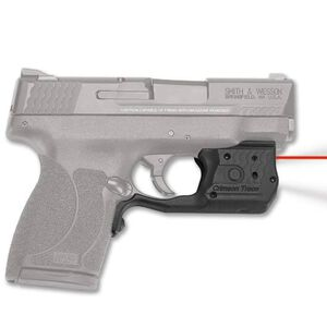 Crimson Trace Laserguard Pro S&W M&P Shield .45 ACP 150 Lumen LED White Light/Red Laser Polymer Housing Overmolded Activation Matte Black