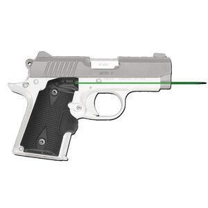 Crimson Trace LG-409G LaserGrips Green Laser Fits Kimber Micro 9 Matte Black