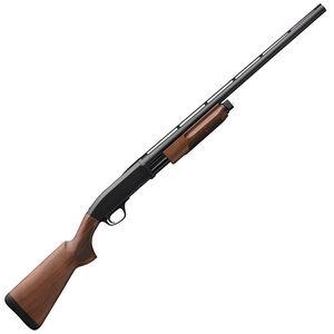 "Browning BPS Field 28 Gauge Pump Action Shotgun 28"" Barrel 2-3/4"" Chamber 4 Rounds Satin Walnut Stock Matte Blued Finish"