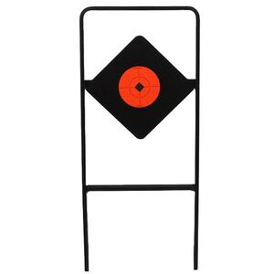 Birchwood Casey World of Targets Ace of Diamonds AR500 Spinner Target Fluorescent Orange Target Spot 47340