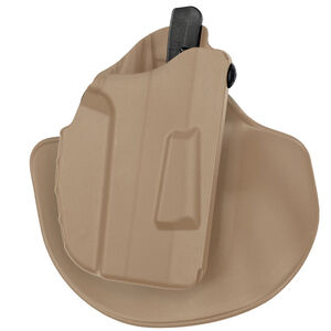 Safariland 7378 7TS ALS Concealment Paddle with Belt Loop Combo Holster fits GLOCK 19/23 Right Hand Synthetic Plain FDE