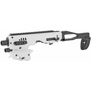 CAA MCK Gen 2 Micro Roni Conversion Kit Chassis Fits GLOCK 17/19 Polymer White MCKGEN2W