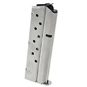 Ruger SR1911 Magazine 9mm Luger 9 Rounds Stainless Steel Natural Finish
