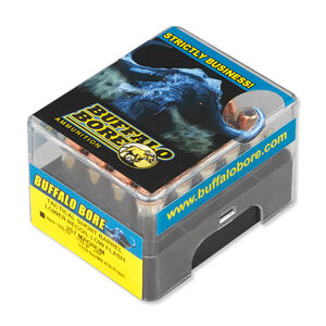 Buffalo Bore .357 Magnum Ammunition 20 Rounds JHP 125 Grains 19G/20