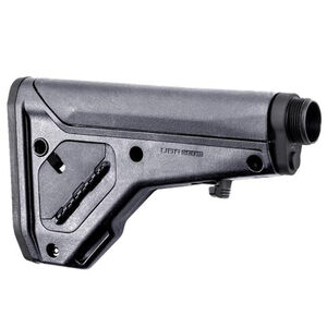 Magpul UBR Gen2 Collapsible/Adjustable Stock AR-15/AR-10 Carbine/A5 Receiver Extensions QD Sling Points Footman's Loop Synthetic Polymer Gray Finish