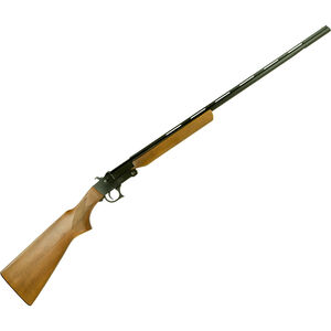 "Hatfield SGL 20 Single Shot 410 Bore 28"" Barrel 3"" Chamber 1 Round Walnut Stock Black"