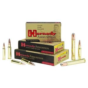 Hornady Custom 376 Steyr 225 Grain InterLock SP 20 Rnd Box