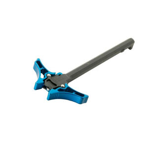 Timber Creek Outdoors AR-15 Enforcer Ambidextrous Charging Handle Blue Anodized E AMBI CH B