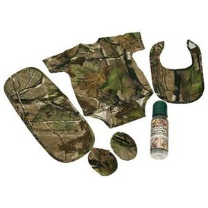 River's Edge Products Camo Baby Combo 0 to 6 Months Cotton 5 Piece 1542