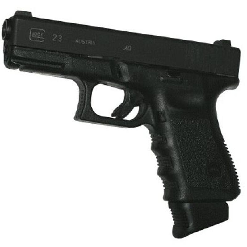 Pearce Grip Extension For GLOCK 17/18/19/22/23/24/31/32/34/35/37/38 Polymer Black PG-GP