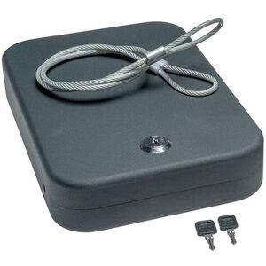 SnapSafe Lock Box 2 Pack Keyed Alike XXL Black Steel 75221