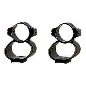 Kwik-Site See-Thru Mounts Fits Remington 7400/7600 Black