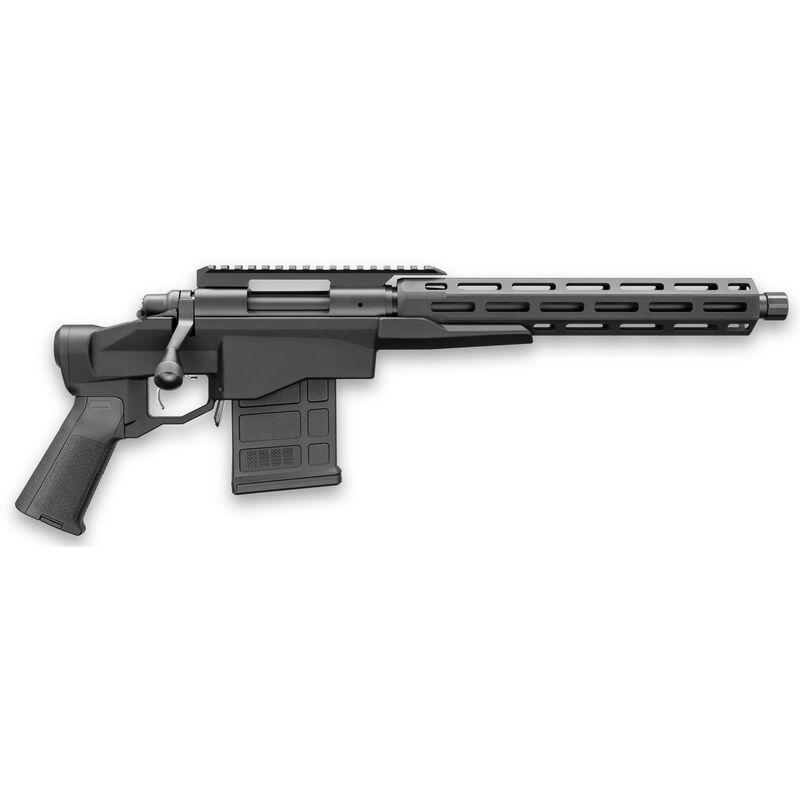 "Remington 700 CP .308 Win Bolt Action Pistol 12.5"" Threaded Barrel 10 Round Optic Rail M-LOK Handguard Black Cerakote"