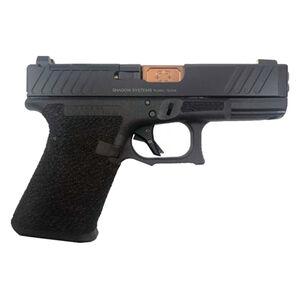 "Shadow Systems SG9C 9mm Luger Semi-Auto Handgun 4.01"" Bronze Barrel No Magazine Stippled Frame COPS Slide Black"